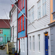 Laneways of Bergen.