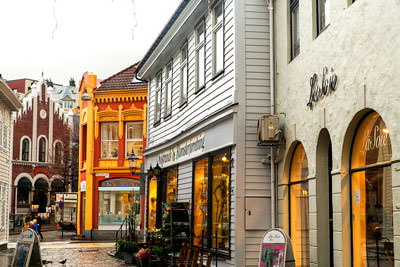 Thumbnail image of Laneways of Bergen.