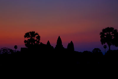 Thumbnail image ofPre-sunrise colors of the sky from the western...