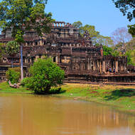 Baphuon in the Angkor Thom complex.