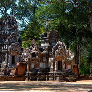 Khleang, one of the many small temples in the Angkor Thom complex.