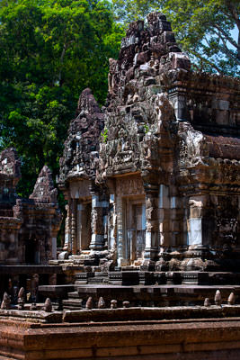 Thumbnail image ofKhleang, one of the many small temples in the...