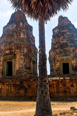 Thumbnail image ofPreah Rup temple complex, a brick and laterite...
