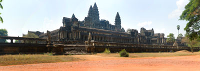 Thumbnail image ofAngkor Wat from the south-east with the eastern...