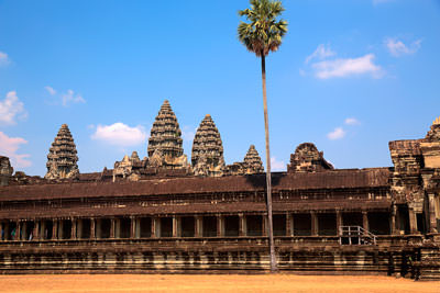 Thumbnail image ofThe south wing of the west gallery of Angkor Wat.