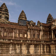 The main eastern entrance to enclosure II of Angkor Wat.