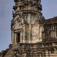 The south-eastern corner tower of enclosure II of Angkor Wat.