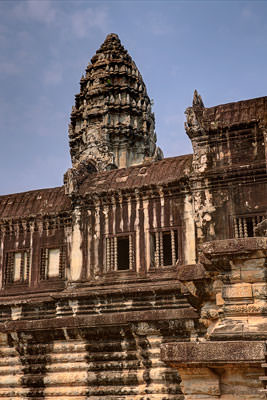 Thumbnail image ofOne of the towers of the central sanctuary of...