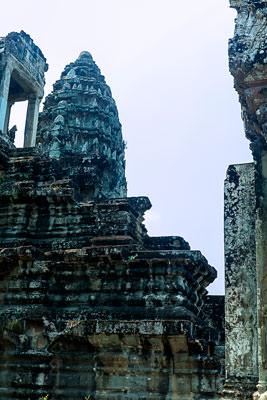 Thumbnail image ofSouth-west tower of the central sanctuary of Angkor...