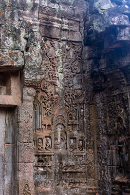 Thumbnail image of Bas relief on the wall of the gallery of enclosure...