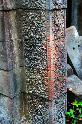 Thumbnail image ofBas relief corner, construction over 800 years...