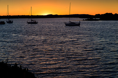 Thumbnail image ofSunset over the Clarence River.