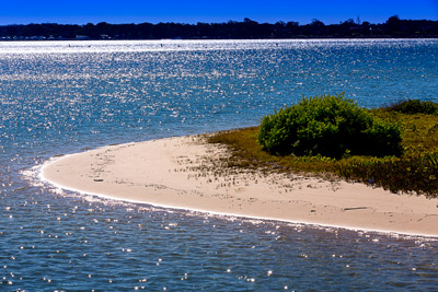 Thumbnail image of Pristine small beach at the tip of a small island...