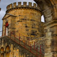 Guard tower at Port Arthur convict prison.