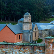 The Asylum and Separate Prison in the grounds of the Port Arthur Convict prison.