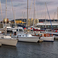 Yachts in Constitution Dock.