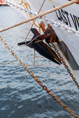 Thumbnail image of Difficult anchor to deploy at sea.