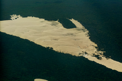 Thumbnail image ofSandblow, sand dune moving through and over the...