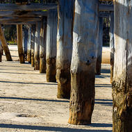 McKenzie's jetty, although unusable, has stood the test of time, around 150 years, so far.