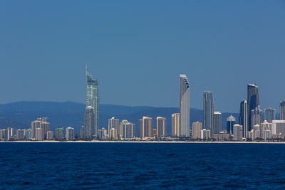 Thumbnail image of High-rises along the Surfers Paradise beach.