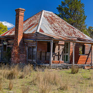 Abandoned.  Old farm house.