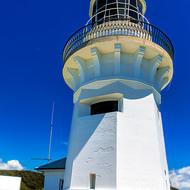 Smoky Cape lighthouse.