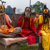 Three wise babas.