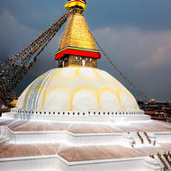 The Great Boudha Stupa.