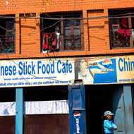 Chinese Stick Food Cafe.
