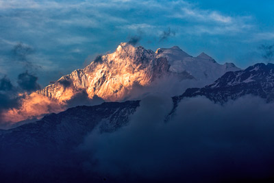 Thumbnail image ofAnnapurna Range in the late afternoon.
