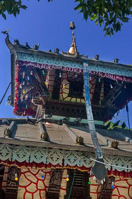 Thumbnail image ofCentral pagoda at Taal Barahi temple.