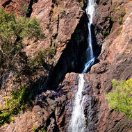 Wangi falls and waterhole.