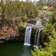 Dangar falls on the Bielsdown River.