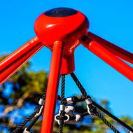 What is it?  Apex of playground equipment