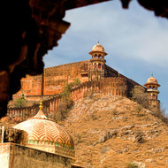 Jaigarh Fort from Amber Fort.