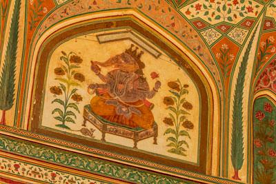 Thumbnail image ofGanesha fresco.