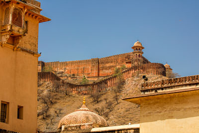 Thumbnail image ofJaigarh Fort above Amber Fort.