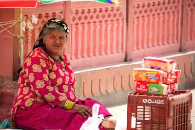 Thumbnail image ofRoadside vendor.