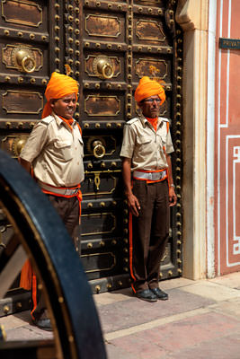 Thumbnail image ofPrivate area, door guards.