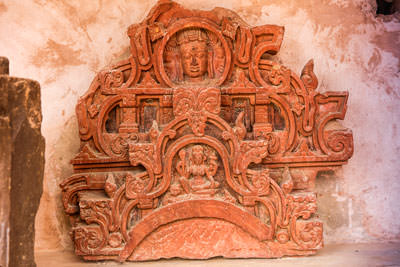 Thumbnail image of Bas relief rescued.