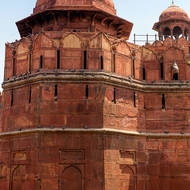 Red Fort guard tower.