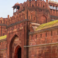 Red Fort main gate.