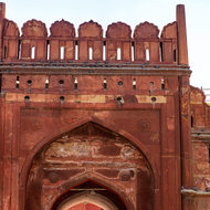 Red Fort main gateway.