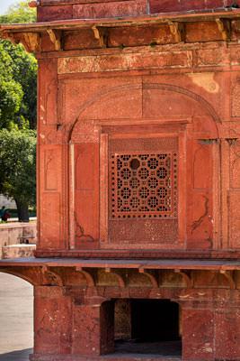 Thumbnail image ofBathing pavilion window.