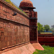 Red Fort moat.
