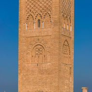 Hassan Tower and mosque columns