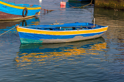Thumbnail image of Boat on the Oued Bouregreg river.