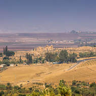 Berber and Roman town of Walili later Volubilis on the river plains near Moulay Idriss.