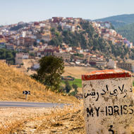 3 km to Moulay Idriss.