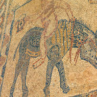 Mosaic, stunt riding perhaps.